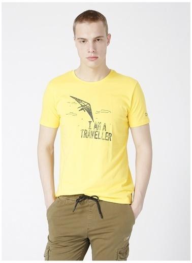 National Geographic National Geographic Sarı Erkek T-Shirt Sarı
